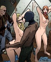 Bdsm cartoons. The longest journey hosts and their beautiful naked slaves