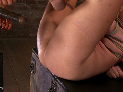 Part 4/4 of Augusts Live Show:  Audrey has - Unique Bondage - Pic 7