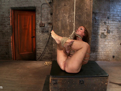 Part 4/4 of Augusts Live Show:  Audrey has - Unique Bondage - Pic 14
