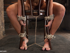 Smoking hot blond with huge tits, a perfect - Unique Bondage - Pic 1