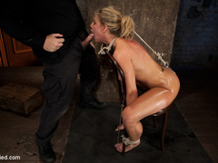 Smoking hot blond with huge tits, a perfect - Unique Bondage - Pic 12