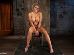 Smoking hot blond with huge tits, a perfect - Unique Bondage - Pic 14