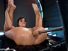 Double Anal, big pussy fucking and long - Unique Bondage - Pic 9