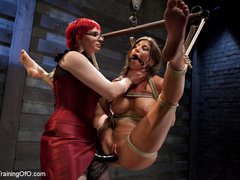 Lesbian slave training for the first time - Unique Bondage - Pic 1