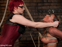 Lesbian slave training for the first time - Unique Bondage - Pic 11