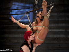 Lesbian slave training for the first time - Unique Bondage - Pic 13