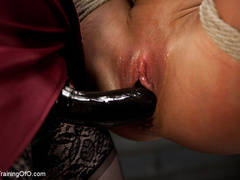 Lesbian slave training for the first time - Unique Bondage - Pic 14