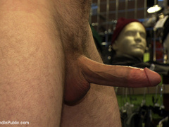 19 year old stud with a giant cock gets used - Unique Bondage - Pic 3