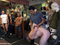 19 year old stud with a giant cock gets used - Unique Bondage - Pic 4