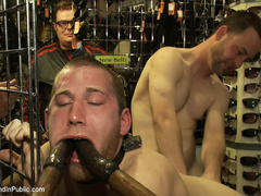 19 year old stud with a giant cock gets used - Unique Bondage - Pic 9