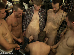 19 year old stud with a giant cock gets used - Unique Bondage - Pic 10