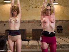 Maitresse Madeline and Bobbi Starr unite to - Unique Bondage - Pic 1