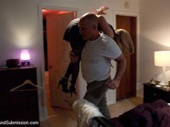Peeping tom gets revenge on busty house wife - Unique Bondage - Pic 2