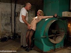Peeping tom gets revenge on busty house wife - Unique Bondage - Pic 3