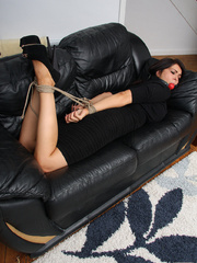 Sexy young lady Charley finds herself all - Unique Bondage - Pic 4