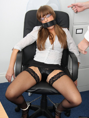 Cate Harrington get tied, gagged and abused - Unique Bondage - Pic 4