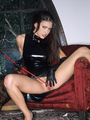 Steaming hot Jessica Jaymes smokes and - Unique Bondage - Pic 4