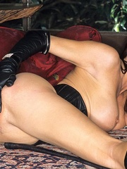 Steaming hot Jessica Jaymes smokes and - Unique Bondage - Pic 15
