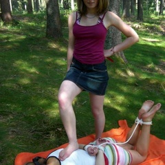 Petite restrained teens get humuliated and - Unique Bondage - Pic 5