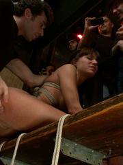 Bound perfect body slave cutie gets - Unique Bondage - Pic 12