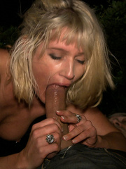 Blonde gagballed slave chick geys humiliated - Unique Bondage - Pic 11