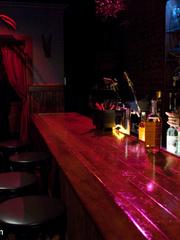 Enslaved bartender babe with epic boobs - Unique Bondage - Pic 1
