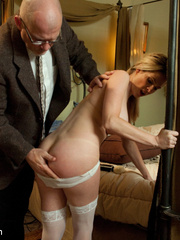 Blonde enslaved maid gets her tight ass - Unique Bondage - Pic 4