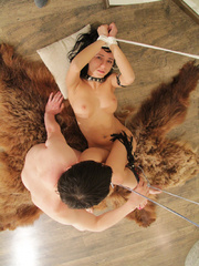 Perfect body leashed babe being pounded from - Unique Bondage - Pic 12