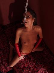 Resatrained captured young hottie sucking - Unique Bondage - Pic 4
