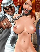 Bondage cartoons. Busty girl tit fuck did.