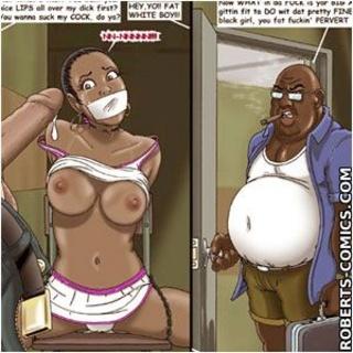 Sado cartoons. Woman suck my dick. - BDSM Art Collection - Pic 3