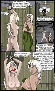 Bondage comics. My own fucking sister!! - BDSM Art Collection - Pic 1