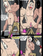 Slave comics. Ohhh.. She likes it in the ass!!
