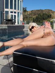 Erotic blonde in tight bikini - Sexy Women in Lingerie - Picture 13