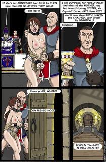 Sado cartoons. No ! I'm Innocent! - BDSM Art Collection - Pic 1