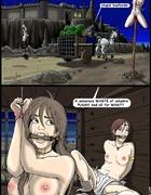 Slave girl comics. A senseless waste of valuable pussy!