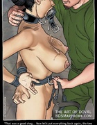 Bdsm comics. Yeah...good girl! I'm gonna fuck all your holes raw, slave!