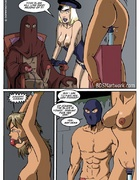Slave girl comics. Come here slave andearn your keep...