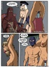 Slave girl comics. Come here slave andearn your keep...