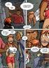 Humiliation comics. Strip right off! Show your big tits!