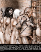 Free bdsm comics. Look at this slaves on the wall! You'll soon be here