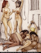 Adult bondage comics. Father told me to fuck you, anytime! This tits are