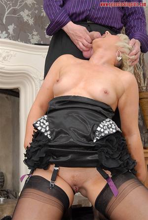 Blonde amateur milf in tight stockings b - XXX Dessert - Picture 10
