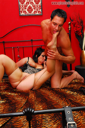 Chained dark haired beauty in exclusive  - XXX Dessert - Picture 9