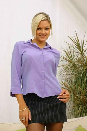 Jennifer the ultimate secretary in minis - XXX Dessert - Picture 11
