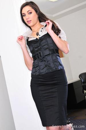 Sexy brunette office babe Georgia Jones - XXX Dessert - Picture 5