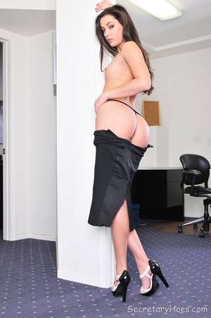 Sexy brunette office babe Georgia Jones - XXX Dessert - Picture 10