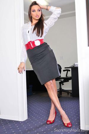 Hot secretary sex scenes