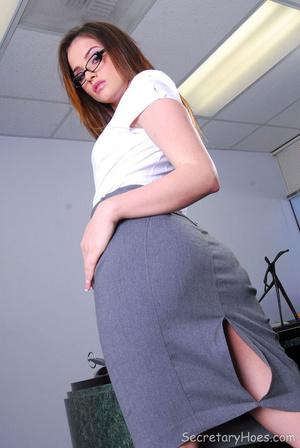 Hot office babe Tori Black in a sexy sec - XXX Dessert - Picture 3