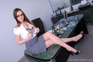 Hot office babe Tori Black in a sexy sec - XXX Dessert - Picture 4